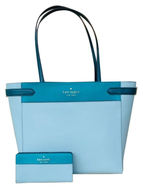 kate-spade-2pcs-stacie-laptop-totewallet-set-frosted-spearmint-multi-345-leather-tote-0-1-650-650