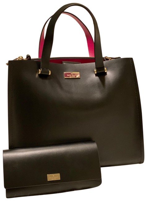 kate-spade-arbour-hill-wallet-black-and-hot-pink-leather-satchel-0-1-650-650