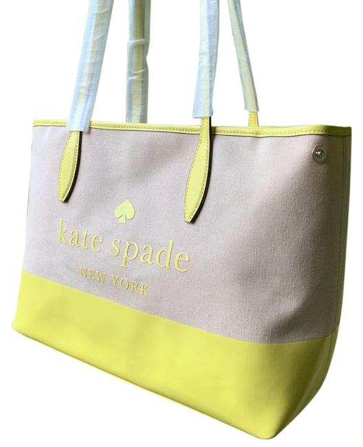 kate-spade-canvasleather-zip-beigeyellow-canvasleather-tote-0-6-650-650