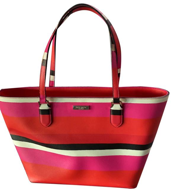 kate-spade-colorful-fun-in-bright-colors-hot-pink-orange-navy-and-white-coated-canvas-tote-0-1-650-650