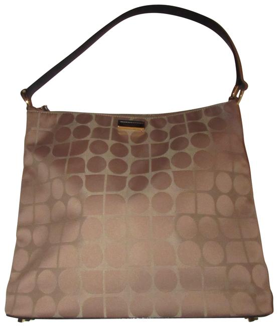 kate-spade-new-pursesdesigner-purses-gold-geometric-print-silk-fabric-and-brown-leather-and-satchel-0-1-650-650