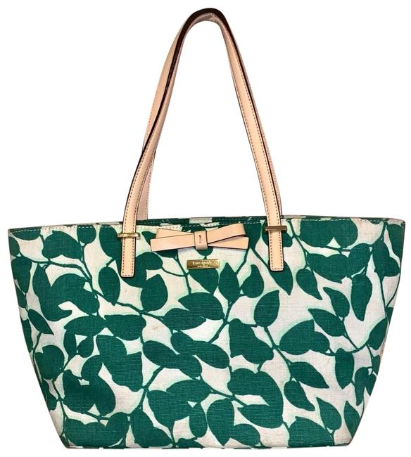 kate-spade-south-poplar-street-francis-t-cream-and-green-with-tan-leather-trim-coated-canvas-tote-0-1-650-650