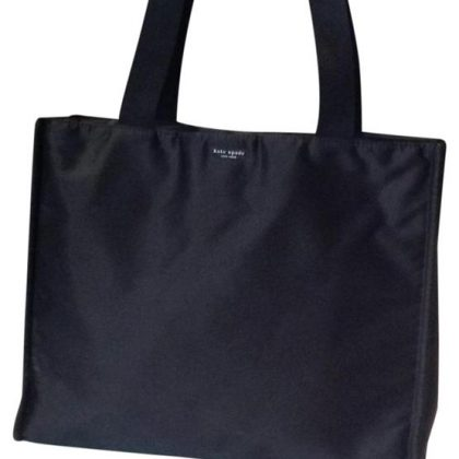 kate-spade-zippered-by-black-super-strong-man-made-fabric-satin-version-of-ballistic-nylon-tote-0-1-650-650